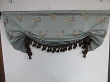 """Custom Designer London Butterfly Valance """" French Country """" LeCoq (Rooster) Spa"""