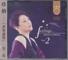 """Jheena Lodwick - Vol.2 Feelings"" 24bit/96kHz Mastering Audiophile HDCD CD New"