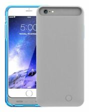 Blue Mota 2400mAh iPhone 6 6S MFi Certified Clip On Battery Power Case Cover