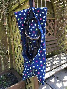 Quality Handmade Fleece Bridle Bag