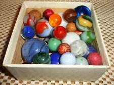 Vintage Marbles in Old Box, see photos
