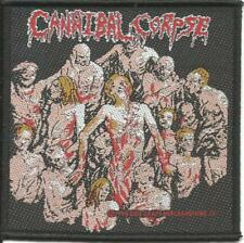 CANNIBAL CORPSE bodies 1994 WOVEN SEW ON PATCH official no longer made RARE