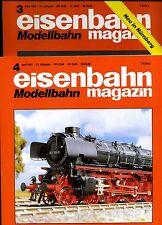 Eisenbahn Magazin Modellbahn --1993--Ausgabe 3 + 4 -- 2 Stück -