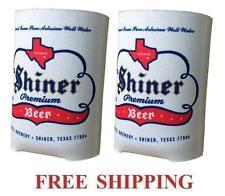 Spoetzl Brewery 2 Shiner Beer Can Coolers Koozie Coolie Huggie Coozie New