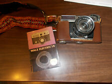 1960s Walz 35MM Camera with Instruction Booklet
