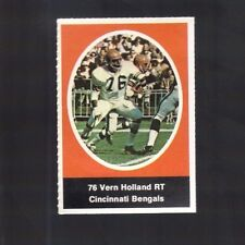 1972 SUNOCO STAMP VERN HOLLAND CINCINNATI BENGALS  (ONLY ONE STAMP)