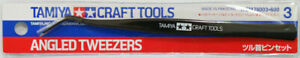 Tamiya Craft Tools Angled Tweezers 74003  Japan