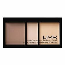 NYX COSMETICS CREAM HIGHLIGHT & CONTOUR PALETTE - CHCP01 LIGHT