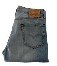 LEVI'S 505 STRAIGHT LEG Jeans - W33 L34 - Light Blue - Great Condition - Men's