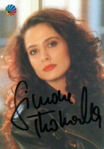 Autogramm - Simone Thomalla