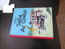 Album Tintin au congo 1955 B12 TBE