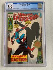 Amazing Spider-Man #86 CGC 7.0 1970 Origin of the Black Widow and new costume