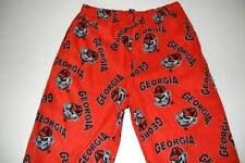 BIG BALL SPORTS GEORGIA BULLDOGS RED FLEECE SLEEPWEAR PANTS MENS SIZE LARGE L