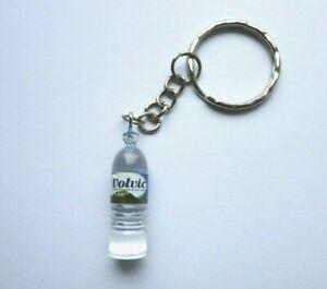 Small Novelty Volvic Water Bottle Keyring