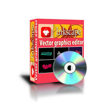 Beginner to professional vector graphics editor as to Illustrator Draw visio CD