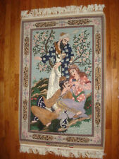 "AUTHENTIC  PERSIAN RUG 48"" x 32"""
