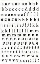 Mrs. Grossman's Giant Stickers - Alphabet, Silver Lower - Reflection - 2 Strips