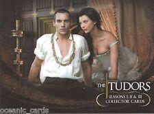 THE TUDORS SEASON 1, 2,3  TRADING CARDS COLLECTOR PROMO CARD PROMO
