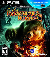 Cabela''s Dangerous Hunts 2011 PS3 New Playstation 3