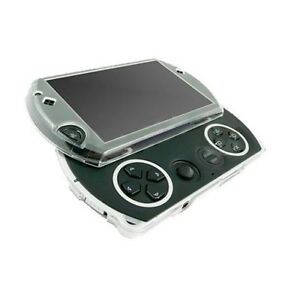 PSP Go Crystal Case 100% CLEAR Hard Shell Protective Cover by Kiicks