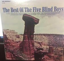THE BEST OF THE FIVE BLIND BOYS..BLACK GOSPEL.STRONG VG PLUS.. FREE SHIPPING