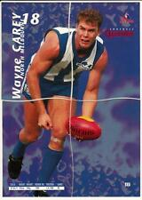 1995 Bewick Football Quarters card - Wayne Carey  #52