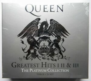 QUEEN GREATEST HITS I II & III PLATINUM COLLECTION 3 CD