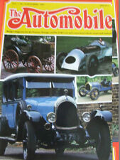 October The Automobile Magazines in English