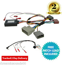 CTSHO005.2 Steering Wheel Stalk Control Adaptor Lead For Honda Civic CR-V 2012>