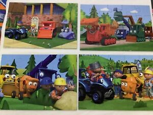 Ravensburger 07 189 0 Jigsaw Puzzle Bob The Builder Bumper Pack 10 in 1 Box