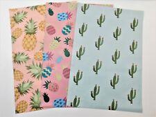 30 10x13 Designer Pineapple Cactus Se Mailer Poly Shipping Envelope Boutique Bag