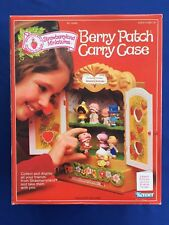 1982 Kenner Strawberry Shortcake Berry Patch Carrying Case Miniatures New MIB