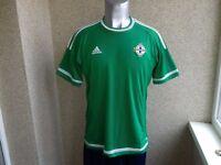 dd5fc03c0 Northern Ireland 2014-2015 Home football shirt L JERSEY ADIDAS SOCCER  CAMISETA