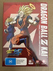 Dragon Ball Z Kai: The Final Chapters Anime DVD Box Set Brand New Sealed