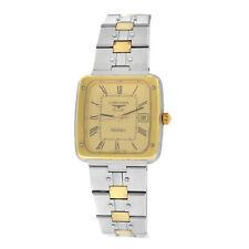 New Ladies Longines Ferrari Steel Gold Plated Date Quartz 24mm Watch