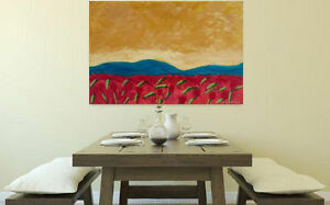 Office WALLdecor Abstract Acrylic LARGE Painting on Canvas,MODERN ART,Sweet View
