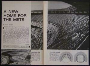 1964 SHEA STADIUM Grand Opening construction pictorial