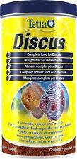 Tetra Discus (Prima) Granules 300g - 1000ml Slow Sinking Tropical Fish Food