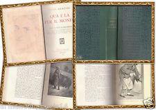 LUIGI BARZINI- QUA E LA PER IL MONDO- HOEPLI 1916 OTTIME CONDIZIONI