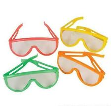 12 PAIRS NEON SUNGLASSES CHILDRENS KIDS Party Favor Luau #ST9 Free Shipping