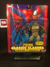 Toybiz Marvel Legends McFarlane Spider-Man Classic Clashes ABOMINATION 2 pack