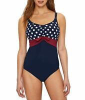 Prima Donna BLUE ECLIPSE Pop One-Piece Swimsuit, US 34F, UK 34E