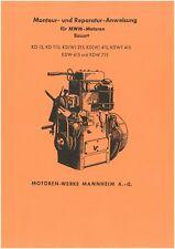 MWM Motor Reparatur KD15 KD 15 NORMAG MIAG