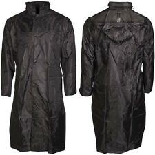 Regenmantel Jacke Kleidung Überwurf Bekleidung Kapuze schwarz S-XXXL Outdoor