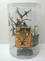 2003 Lemax Spooky Town Decorated Halloween Tree Lighted RETIRED 34934A
