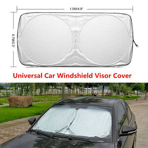 Car Auto Front Windows Protection Windshield Cover UV Sun Visor Shade 150*70cm
