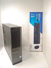 PC DELL Optiplex 390 DT G630 2.7Ghz clavier souri DVD HDMI Win 7 Pro hp lenovo