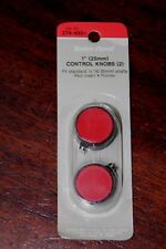 "Radio Shack 274-433 1"" (25MM) Control Knobs (2) Fit Standard 1/4"" (6.35MM) Shaft"