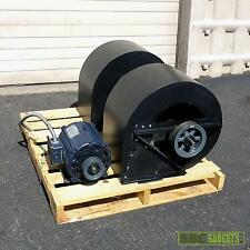Industrial Double Inlet Centrifugal Fan Blower with Motor 7.5 hp 3 phase motor.