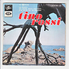 "Tino ROSSI Vinyle 45T 7"" EP LA RONDE - LA PLAYA - COLUMBIA 1071 F Rèduit RARE"